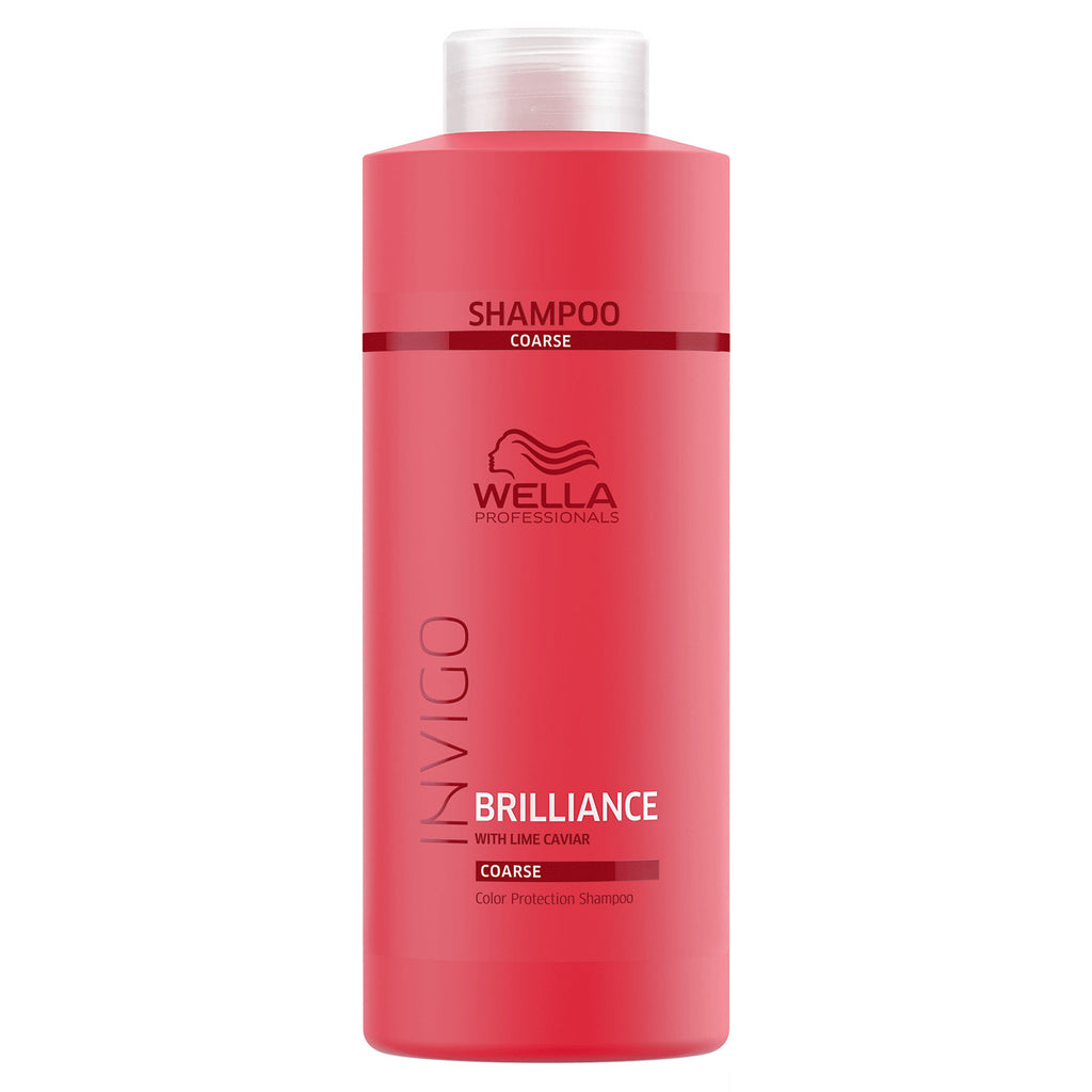 Wella Invigo Brilliance Color Protection Shampoo for Coarse Hair 33.8 oz