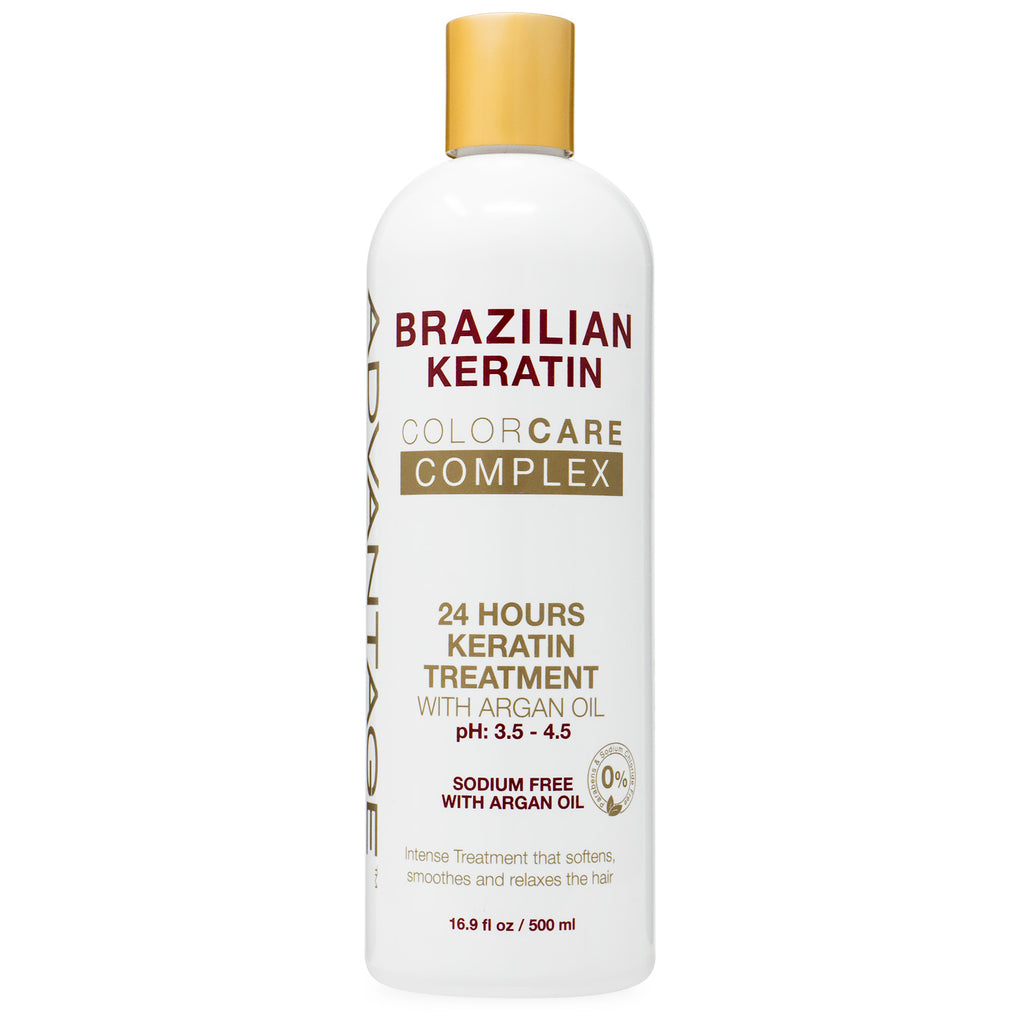 Advantage Brazilian 24 Hours Keratin Treatment with Argan Oil 16.9 oz