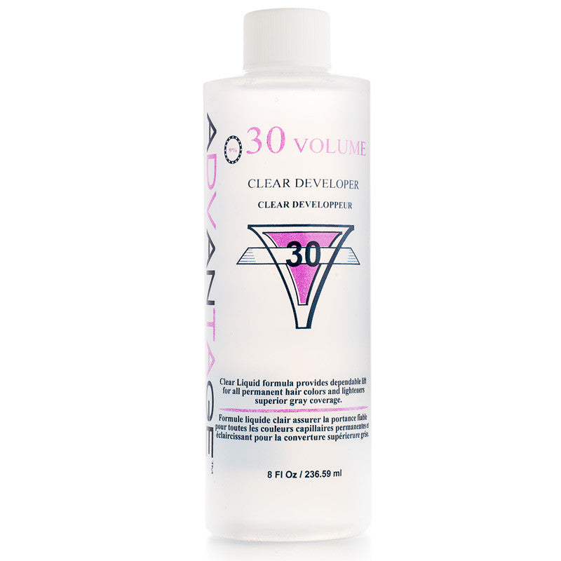 Advantage Clear Developer 30 Volume 8 oz