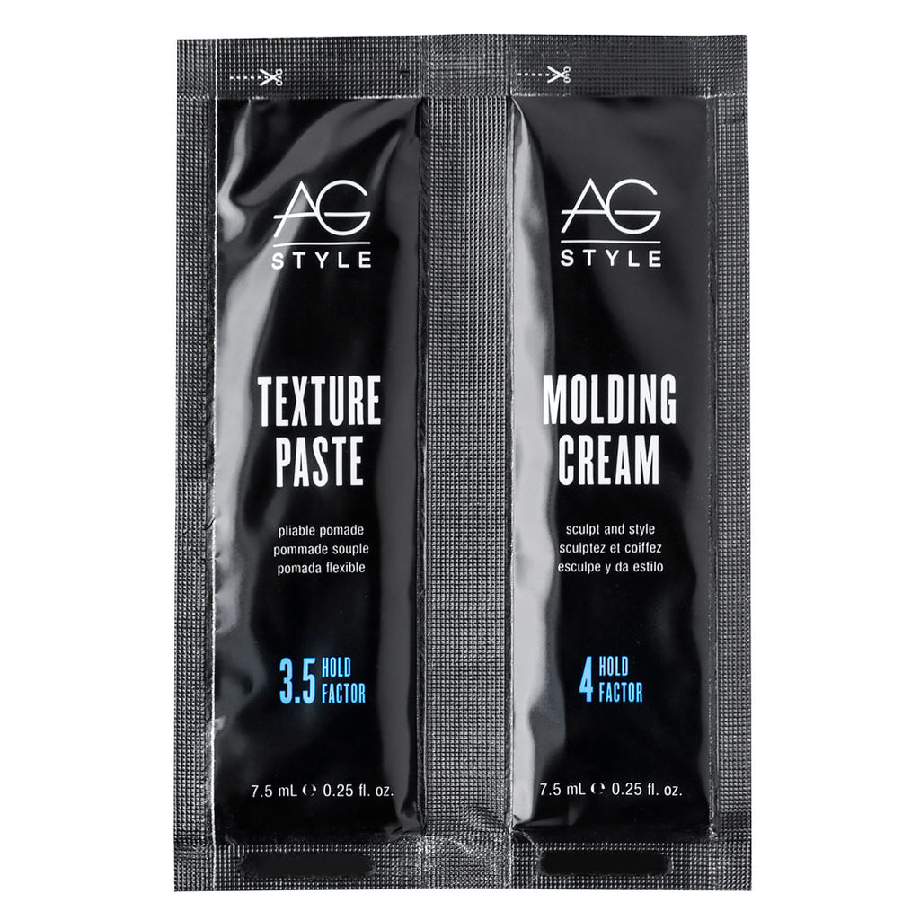 AG Style Molding Cream and Texture Paste Samples