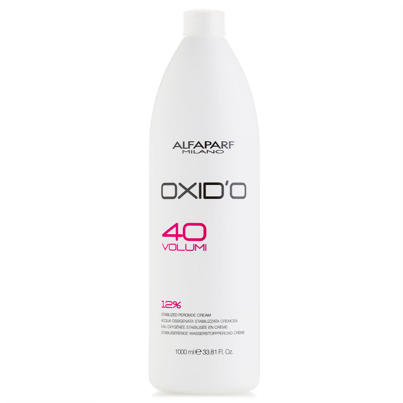 AlfaParf Oxid'o Stabilized Peroxide Cream 33.81 oz 40 Vol. 12%