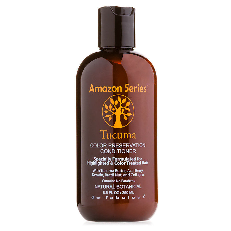 Amazon Series Tucuma Color Preservation Conditioner For Highlighted and Color Treated Hair 8.5 oz