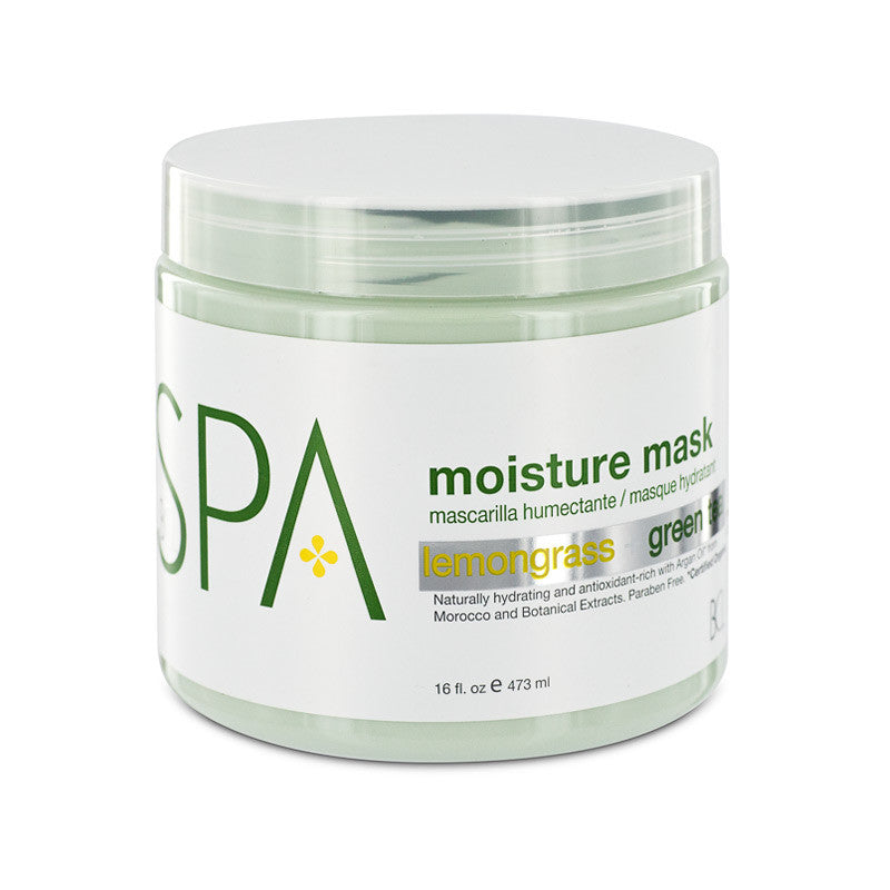 Bcl Spa Lemongrass + Green Tea Moisture Mask 16 oz