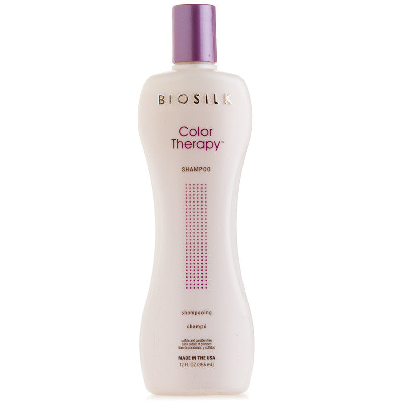 Biosilk Color Therapy Color Protecting Silk Infused Shampoo 12 oz