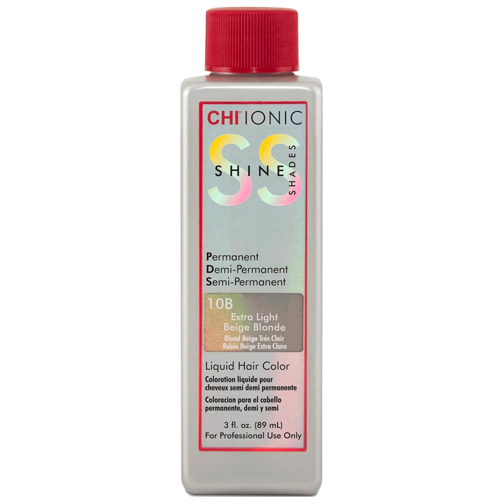 CHI Ionic Shine Liquid Hair Color 3 oz 10B Extra Light Beige Blonde