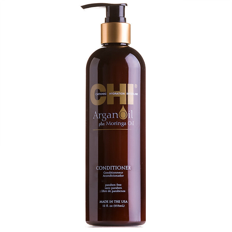 Chi Argan Oil plus Moringa Oil Conditioner 12 oz