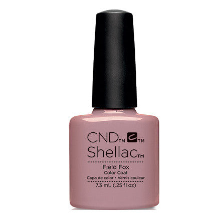 CND Shellac Field Fox Gel Polish 0.25 fl. oz.