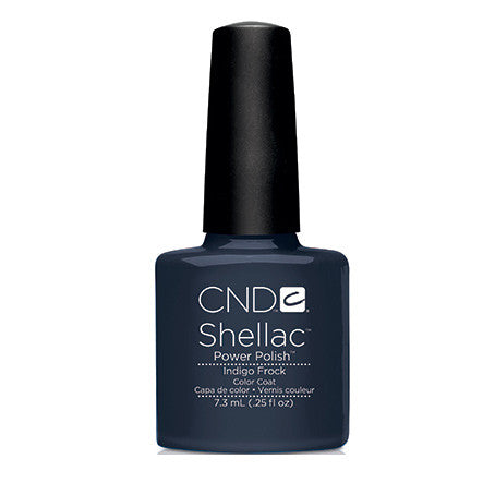 CND Shellac Indigo Frock Gel Polish 0.25 fl. oz.