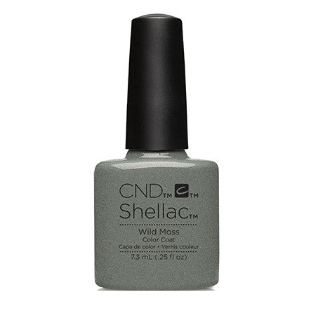 CND Shellac Wild Moss Gel Polish 0.25 fl. oz.
