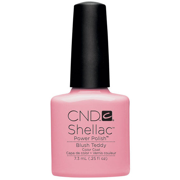 CND Shellac UV Color Coat, Blush Teddy 0.25 oz