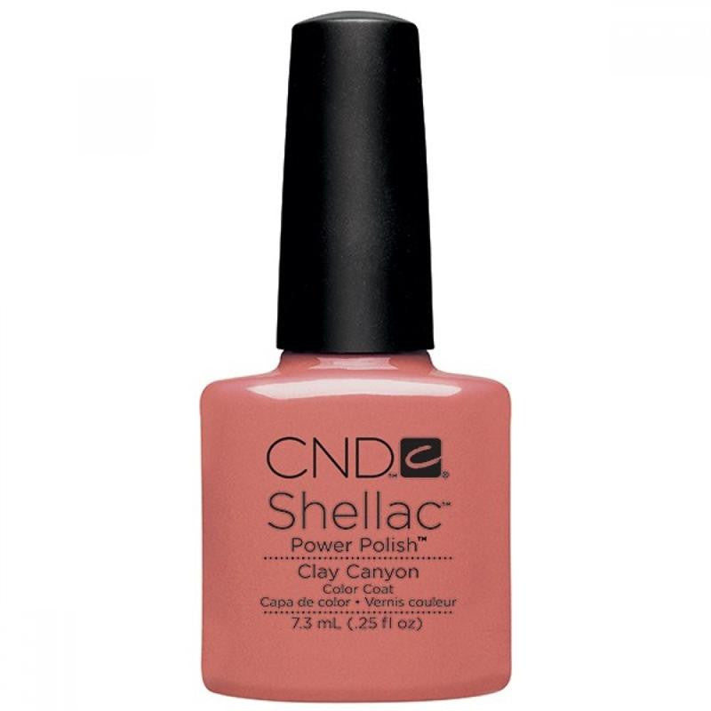 CND Shellac UV Color Coat, Clay Canyon 0.25 oz