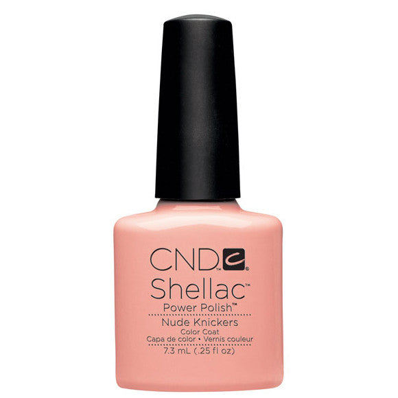CND Shellac UV Color Coat, Nude Knickers 0.25 oz