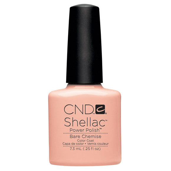 CND Shellac UV Color Coat, Bare Chemise 0.25 oz