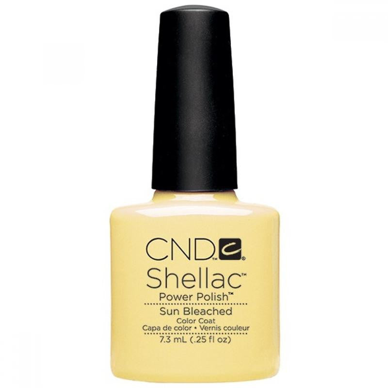 CND Shellac UV Color Coat, Sun Bleached 0.25 oz
