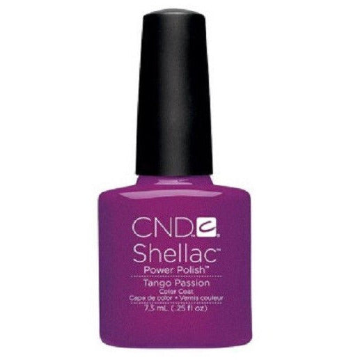 CND Shellac UV Color Coat, Tango Passion 0.25 oz