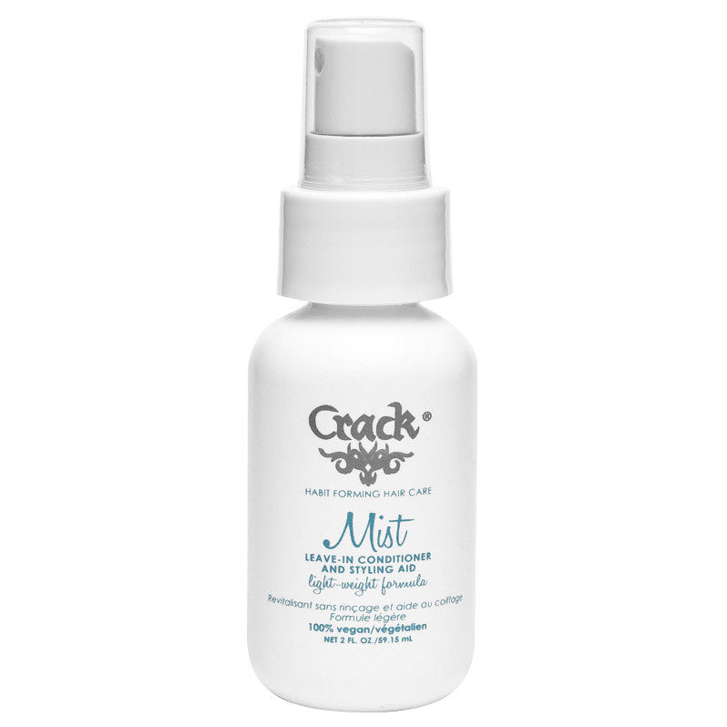 Crack Hair Mist Leave In Conditioner and Styling Aid 2 oz