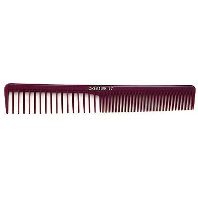 Creative Hairtools Dura-Lite Heat & Chemical Resistant Comb - 17