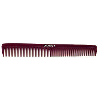 Creative Hairtools Dura-Lite Heat & Chemical Resistant Comb - 4