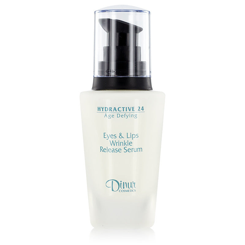 Dinur Hydractive 24 Age Defying Eyes and Lips Wrinkle Release Serum 1 oz