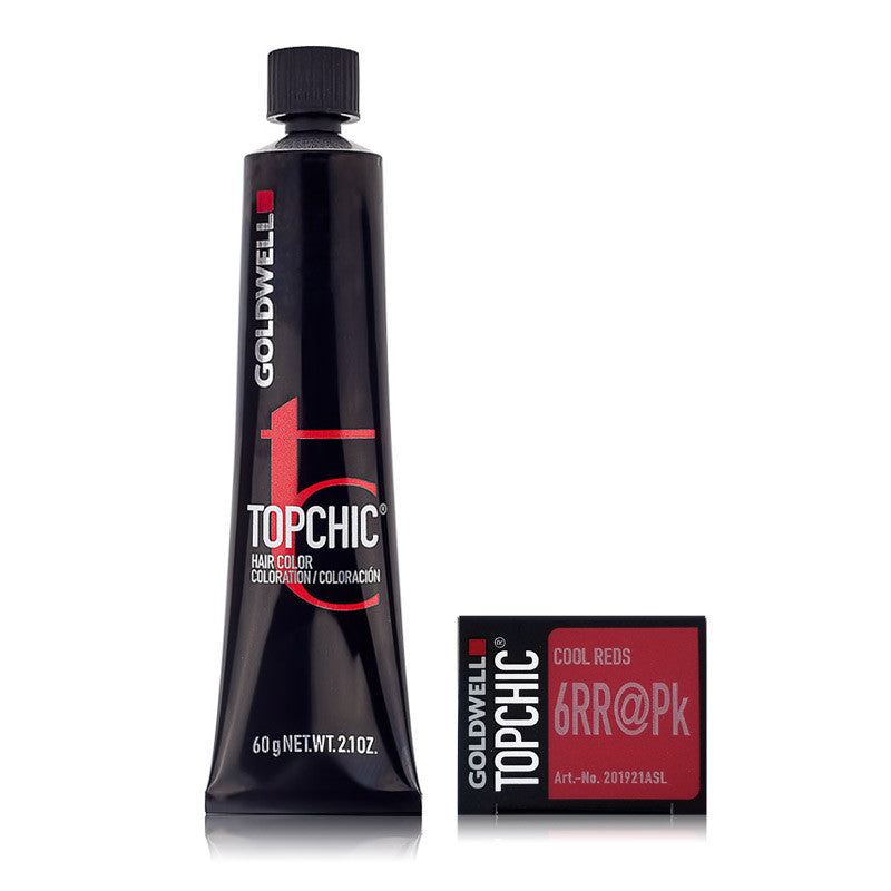 Goldwell Topchic Permanent Hair Color Tube Max Reds 21 Oz