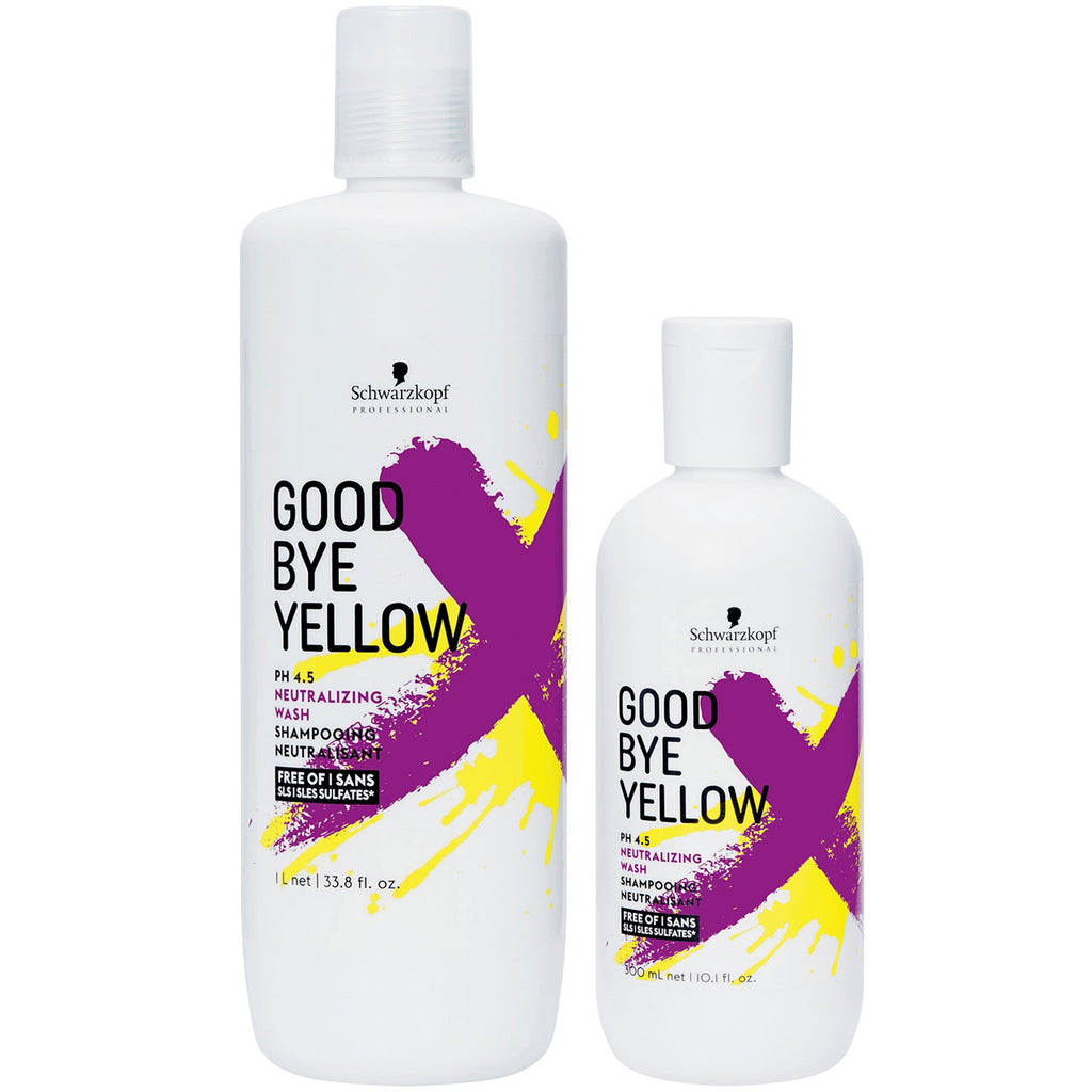 Schwarzkopf Goodbye Yellow Neutralizing Wash Shampoo