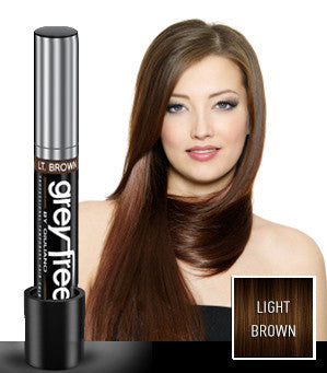 GreyFree By Giuliano Instant Hair Color Touch Up Light Brown 0.25 oz