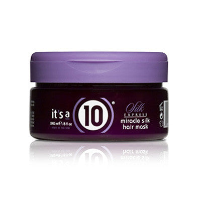 It's a 10 Silk Express Miracle Silk Hair Mask 8 oz