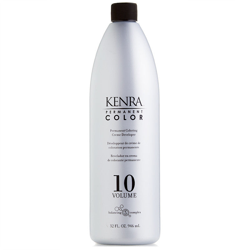 Kenra Permanent Color Creme Developer 10 Volume 32 oz