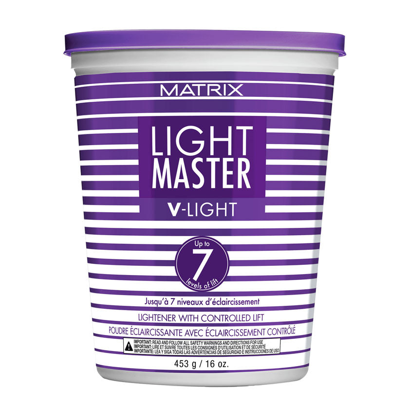 Matrix Light Master V-Light De-Dusted Lightener with Controlled Lift of up to 7 levels of Lift 16 oz