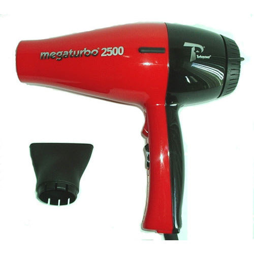 Turbo Power Megaturbo Dryer 2500 Black/Red Model 311A