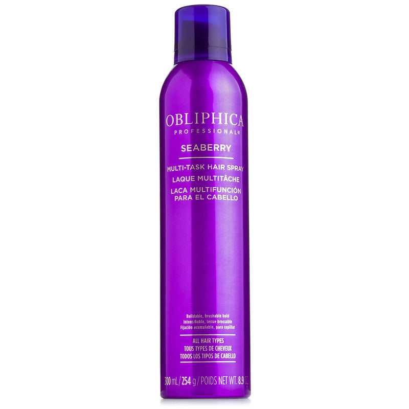Obliphica Professional Seaberry Multi-Task Hair Spray 8.9 oz