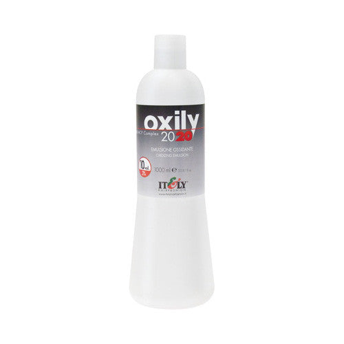 Italy OXILY 2020 Oxidizing Emulsion 33.8 oz 10 Vol