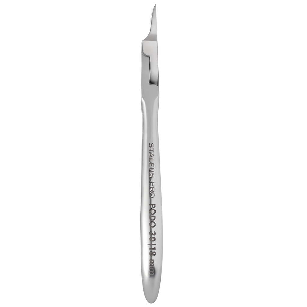 Staleks Podiatry Nippers For Ingrown Nails PODO 30 18 mm NP-30-18