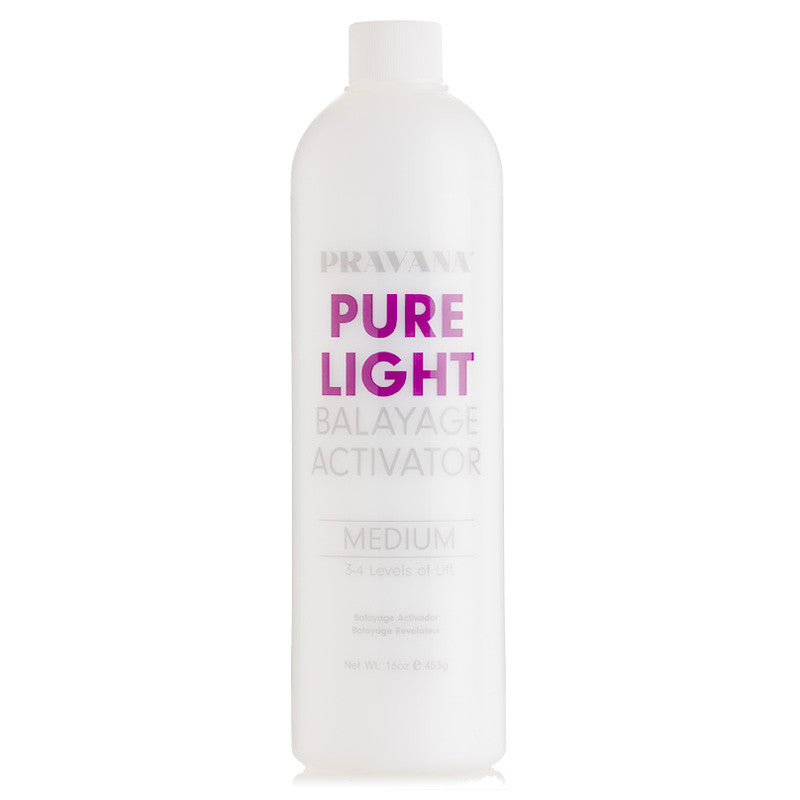 Pravana Pure Light Balayage Activator Medium 3-4 Levels Of Lift 32 oz
