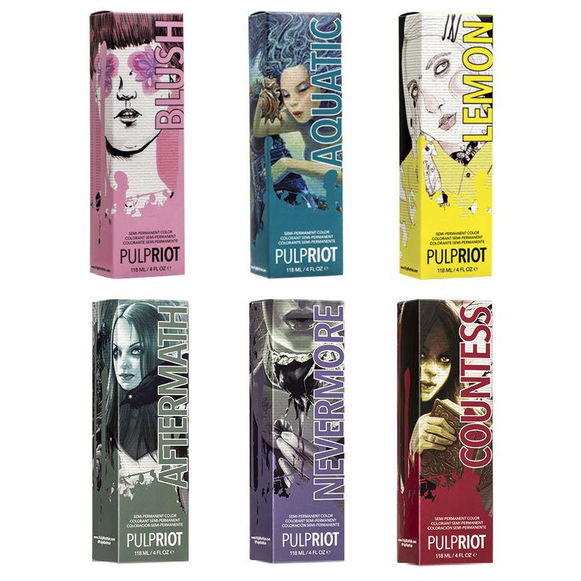 Pulp Riot Semi-Permanent Haircolor 4 oz