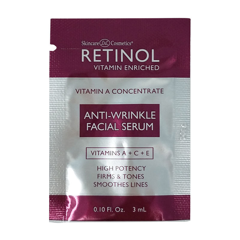 Retinol Anti Wrinkle Facial Serum Sample