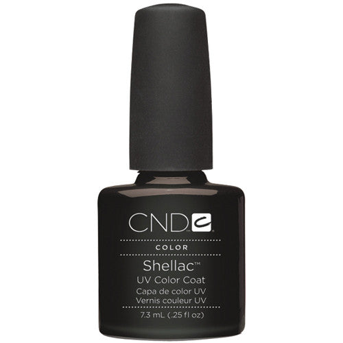 CND Shellac UV Color Coat Black Pool 0.25 oz