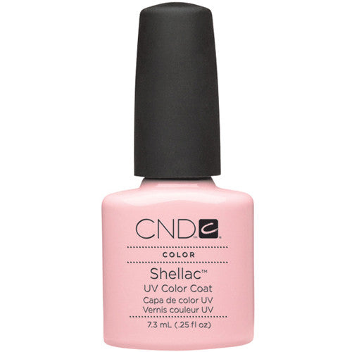 CND Shellac UV Color Coat CLEARLY PINK 0.25 oz