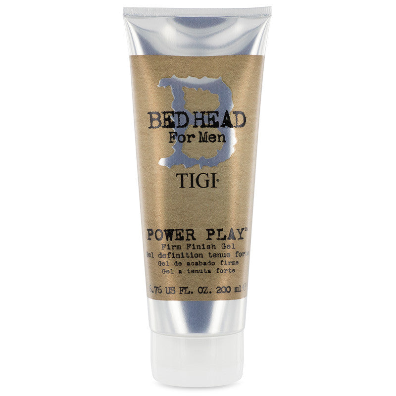 Tigi Bed Head for Men Power Play Firm Finish Gel 6.76 oz