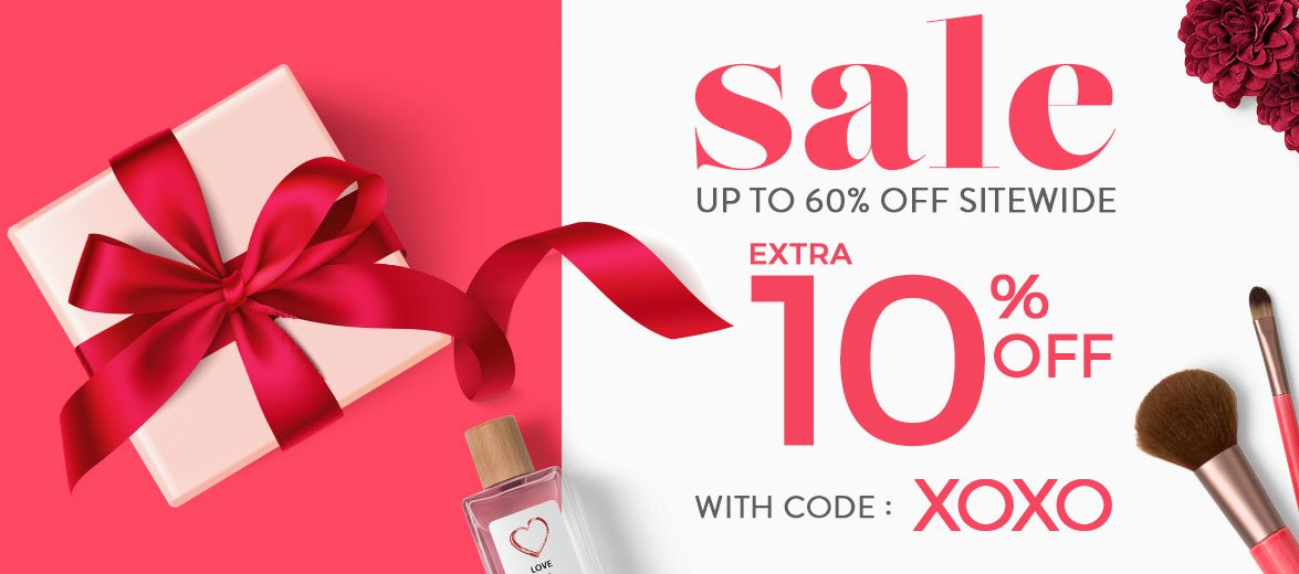 Sale up to  60% Off sitewide. Extra 10% Off with code: 0118.