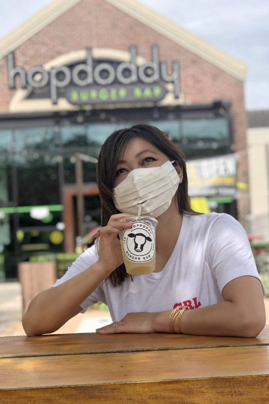 Safely Sip Mask in Cream Organic