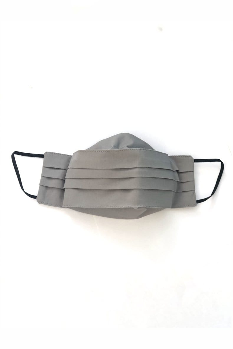 Safely Sip Mask in Dove Grey