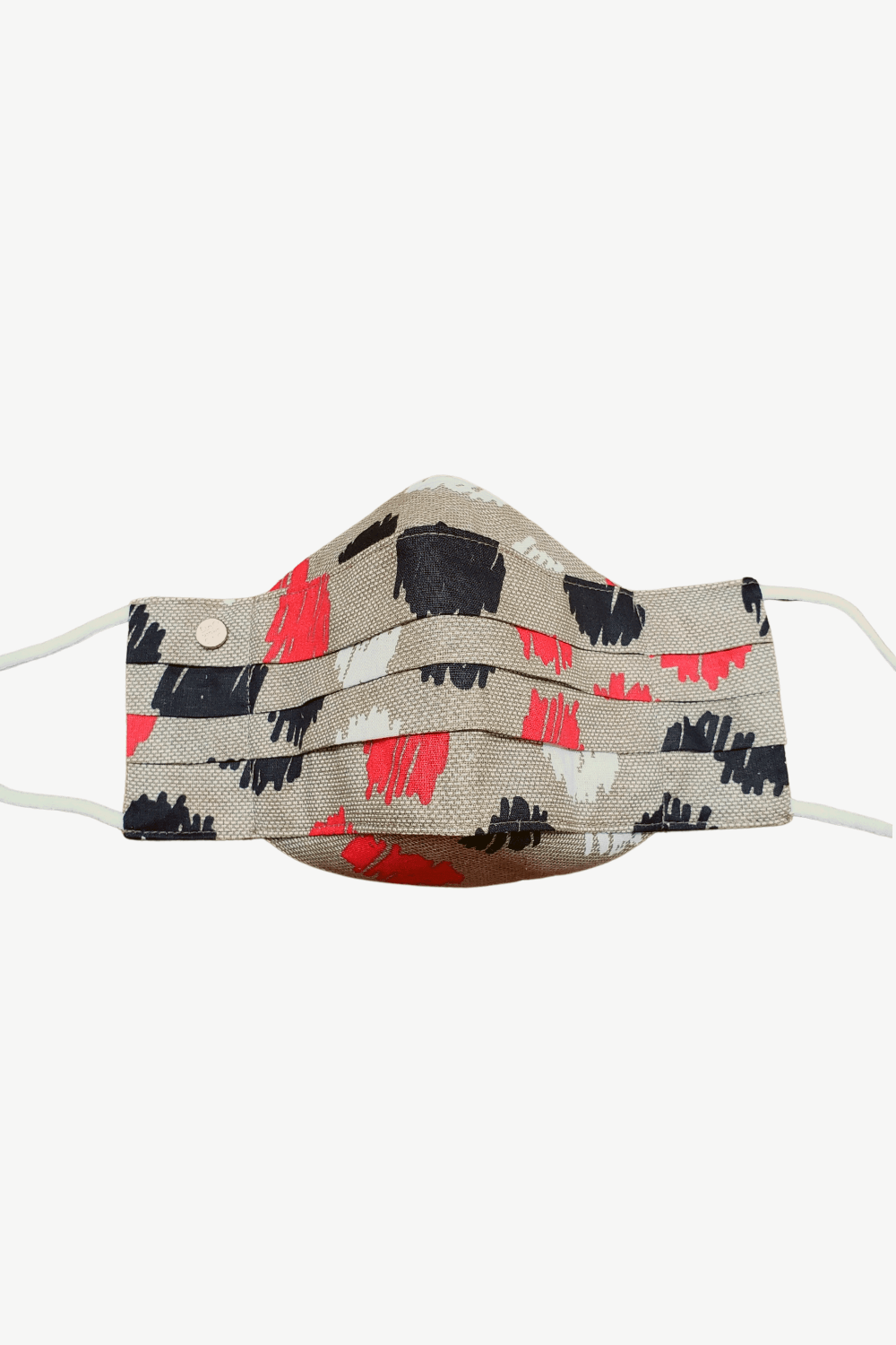 Safely Sip Face Mask Safely Sip Mask in Retro Red Polka Dot - Chloe Dao