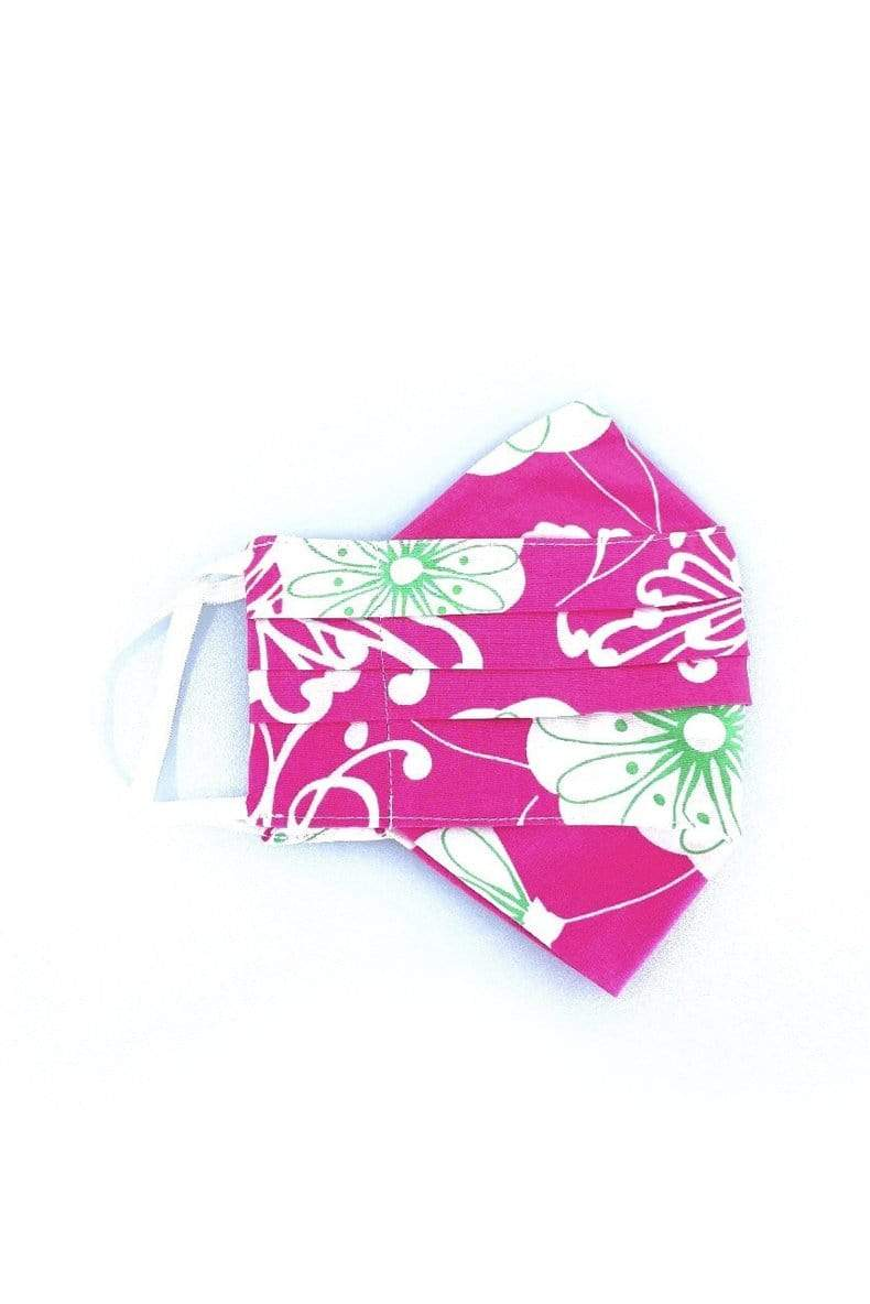 Safely Sip Mask in West Palm Floral Print LIMITED EDITION