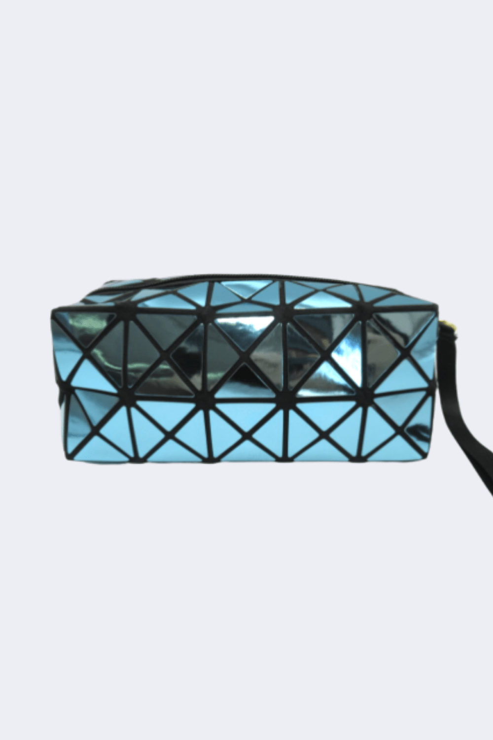 Yi and Yi ACCESSORIES Turquoise Rectangle Cosmetic Bag