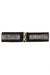 BELT Chrome Edgy Black Elastic Belt - Chloe Dao