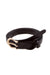 BELT Crossed Leather Belt Black - Chloe Dao