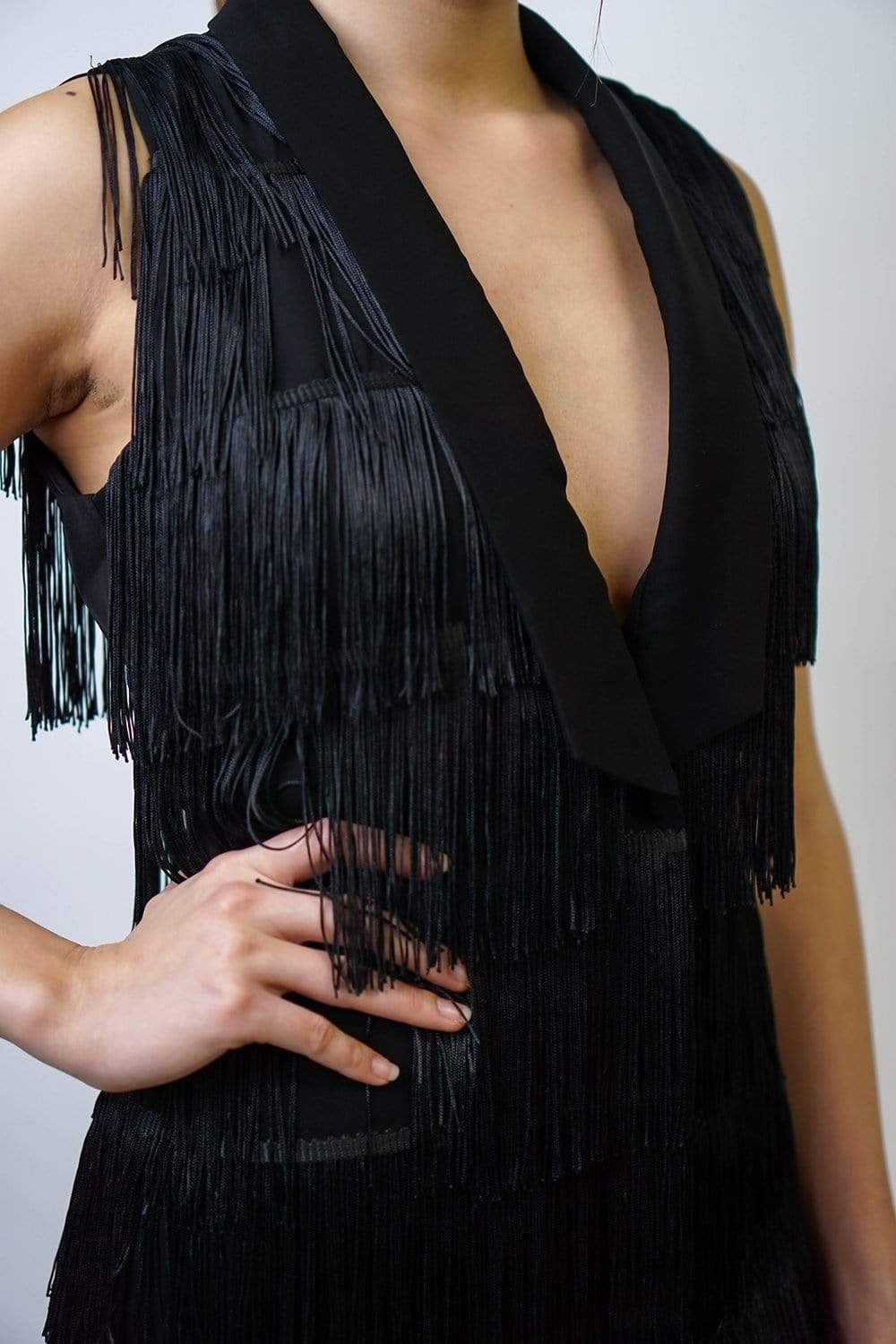 DRESS Awesome Fringe Dress - Chloe Dao