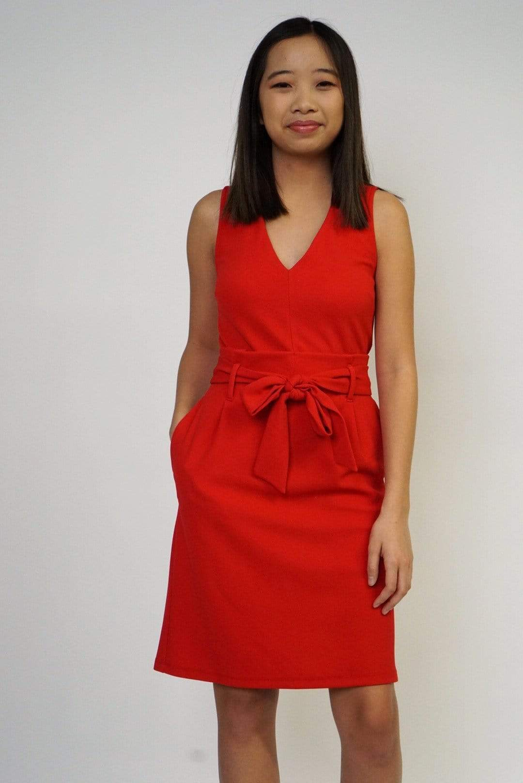 DRESS Cherry Work Dress - Chloe Dao