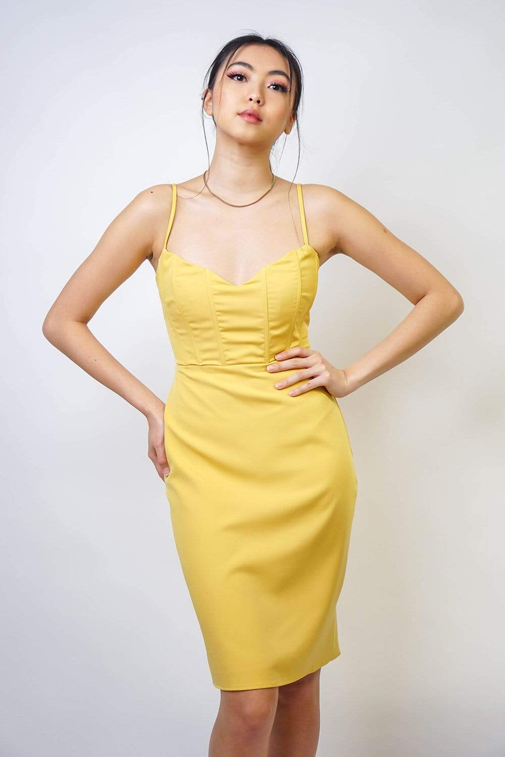 Marigold Body Con Dress
